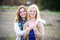 Haley and Karly Senior Fall